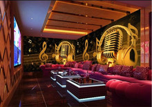 ktv bar mural reflective wall covering wall covering wallpaper waterproof custom notes microphone Large 3d background free shipping european style wood wallpaper leisure bar ktv lounge wine cellar background nostalgia trademark wallpaper mural