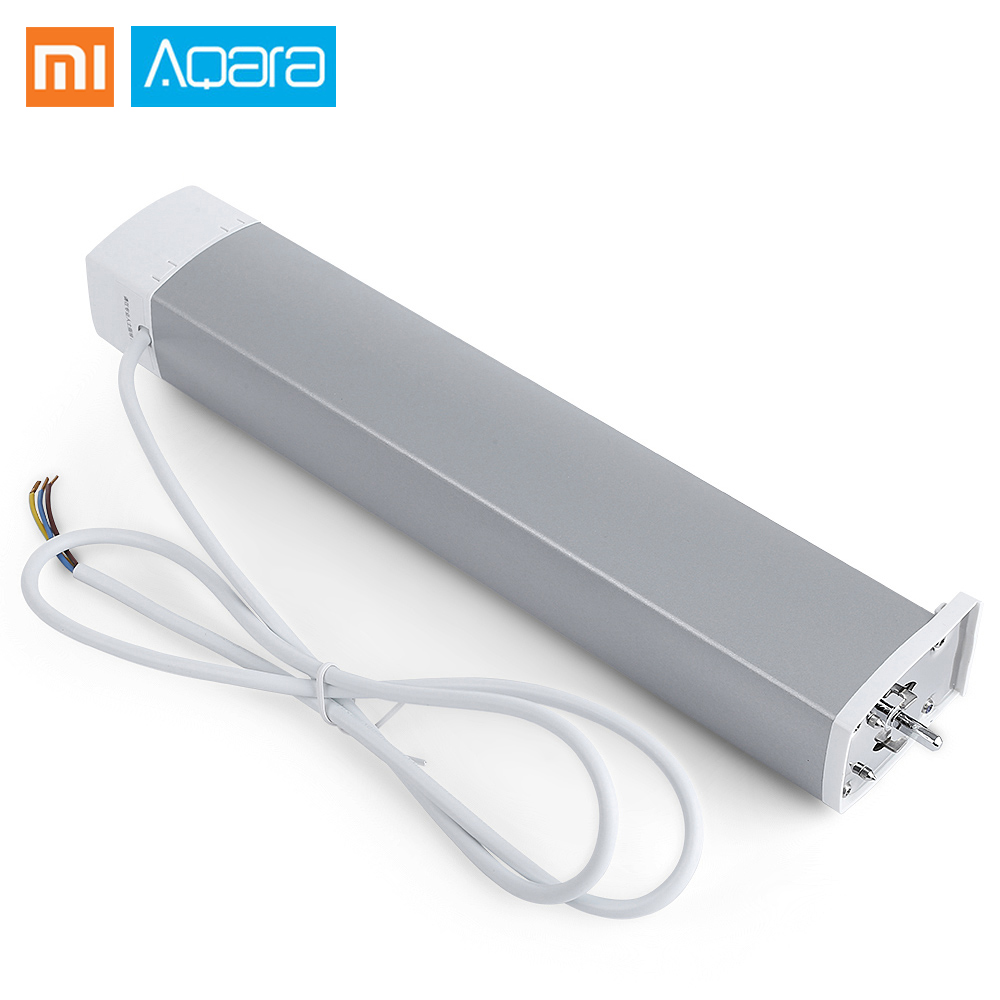 Xiaomi Aqara Intelligent moteur de rideau Intelligent ZiGBee Wifi pour xiaomi dispositif de maison intelligente mi maison Smarphone APP télécommande
