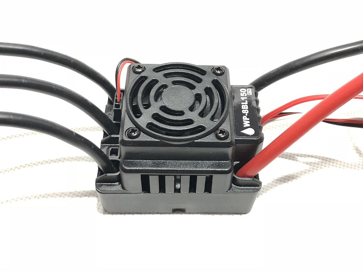 150A Waterproof Brushless ESC Speed Controller For 1/8 RC Car Buggy truck skyrc toro ts160 150a esc competition electronic speed controller for 1 10 1 10 scale rc car 1 8 1 8 scale rawler parts