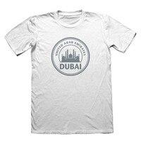 2018 sommer Oansatz T-shirt UAE Dubai Vereinigte Arabische Emirate Design T-Shirt-Lustige Mens Geschenk Heißer Verkauf T-shirt