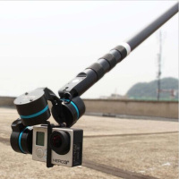 FEI YU G3 G4 Ultra Handheld Gimbal Carbon Fiber Extension Rod Tube 37cm with Switch
