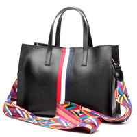2017 Genuine Leather Women Handbags Spring Female Shoulder Bag Fashion Ladies Totes Big Brand Ipad Pink