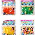 100 pçs/saco Água Bolas de Brinquedo Expansão Brinquedos Crescentes De Água Macia Bolas de Brinquedo Crescente de Água Bolas Mágicas Plantas Cultivar Decoração XQ19