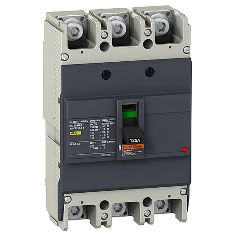ФОТО EZC250N3125  Circuit Breaker Easypact EZC250N 3P 125A 25KA 400/415V