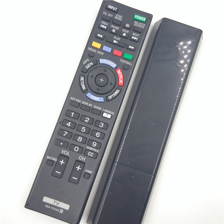 US $15 0 |[ ORIGINAL ] RM YD102 RMYD102 REMOTE CONTROL FIT FOR SONY KDL W B  XBR X B Premium LED HDTV 4K Ultra 3D HD TV W800B X850B-in Remote Controls