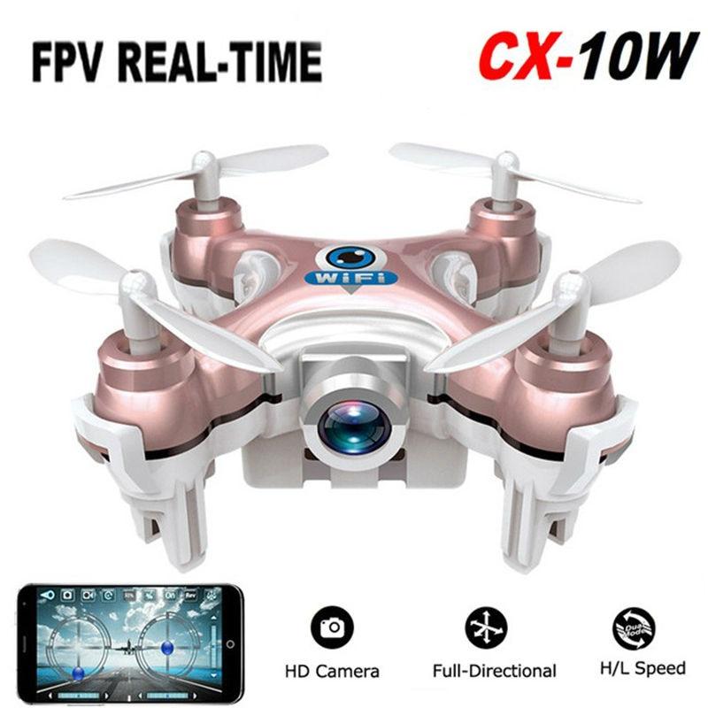 Cheerson CX10W 6 Axis Gyro Phone Wifi Control RC FPV Quadcopter Nano Dron Mini RC Drone