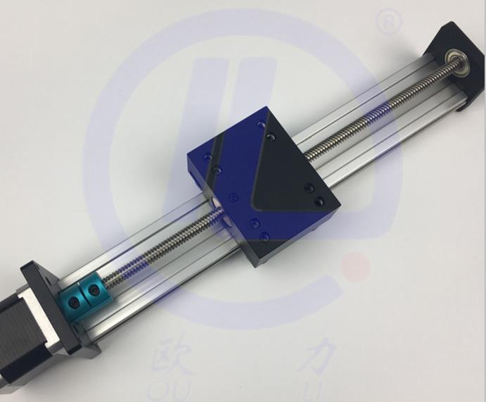 CNC STK 8*8 ballscrew Screw slide module effective stroke 700mm Guide Rail XYZ axis Linear motion+1pc nema 23 stepper motor cnc stk 8 8 ballscrew screw slide module effective stroke 150mm guide rail xyz axis linear motion 1pc nema 23 stepper motor