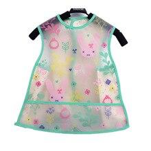 DreamShining EVA Пластиковые Детские Водонепроницаемые нагрудники для мальчиков и девочек; одежда для кормления и обеда; Одежда для новорожденных с героями мультфильмов; Детский фартук