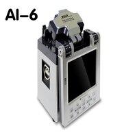 1 шт. 220 В ai 6 автоматический интеллектуальная оптическая Волокно сварочный аппарат Соединительный кабель косичку сращивания покрыты провод