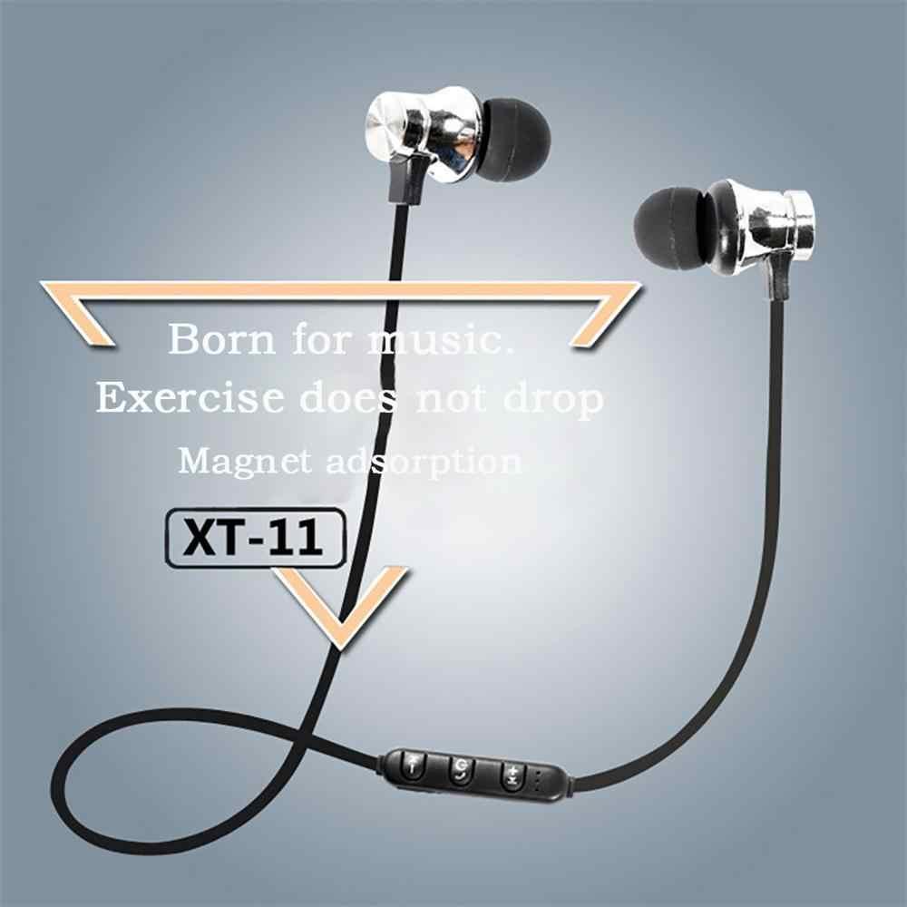 Bluetooth наушники спортивные наушники громкой связи беспроводные наушники Магнитная гарнитура с микрофоном для мобильных телефонов Xiaomi