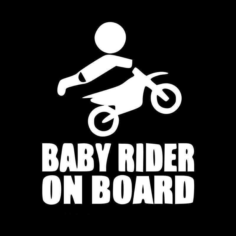 赤ちゃんモトクロスライダー上ボードサインビニール車のステッカーデカールアクセサリー車のステッカーとデカール