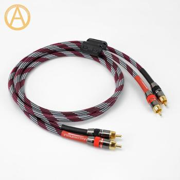 Hifi RCA Cable 4N RCA Cable Ferrite Bead 2RCA Male RCA Audio Cable Amplifier PREAMP 0.5m 0.75m 1m 1.5m 2m 3m To 5m RCA Cable hifi rca cable 4n ofc rca interconnect cable 2rca to 2rca male rca audio av cable amplifier preamplifier dac quad ferrite beads