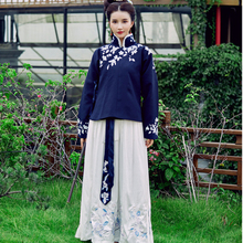 905b8b8ed hanfu dance costume winter outfit women cloak qing dynasty costume chinese  costume(China)