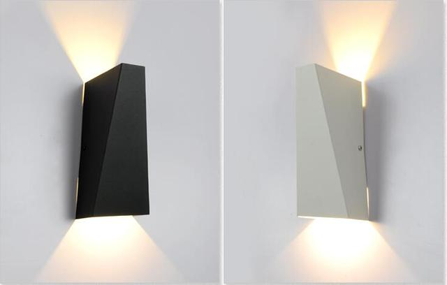 Vendita calda su e giù moderno led light parete dell hotel del