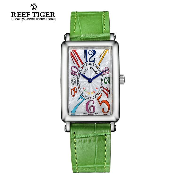 Tiger Reef Fashion Business Waterproof Men's Quartz Watch reloj mujer Luxury Top Brand Leather Strap Watches relogio feminino
