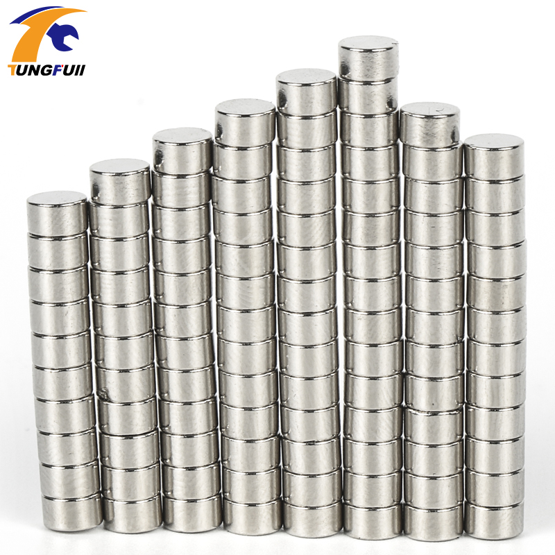 Magnets N50  100pcs Disc Mini 5x3mm N50 Rare Earth Strong Neodymium Magnet Bulk Super  Free Shipping qs 3mm216a diy 3mm round neodymium magnets golden 216 pcs