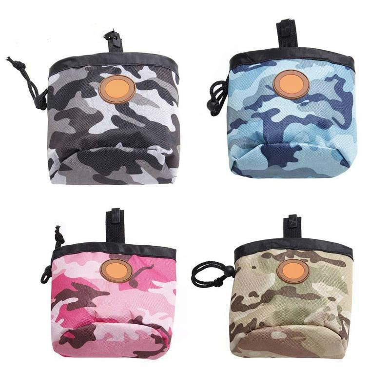 Glorious New Pet Dog Puppy Pouch Walking Food Treat Snack Bag Agility Bait Training Pockets Waist Storage Hold Lzc8281 Quality First Home & Garden Dog Carriers