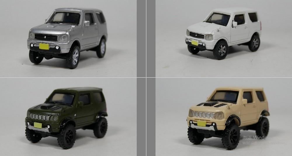 AOSHIMA 1:64 SUZUKI Jimny JB23 Model Car (Plastic Materia)