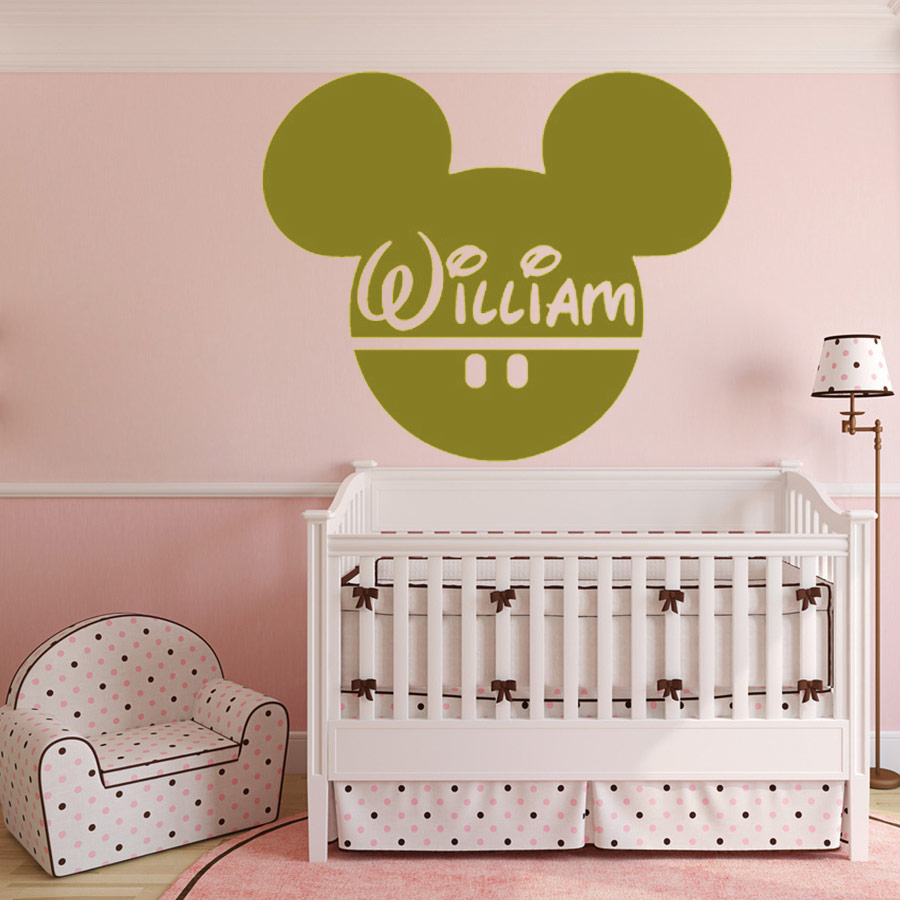 Fantastic Minnie Mouse Wall Decorations Illustration - The Wall Art ...