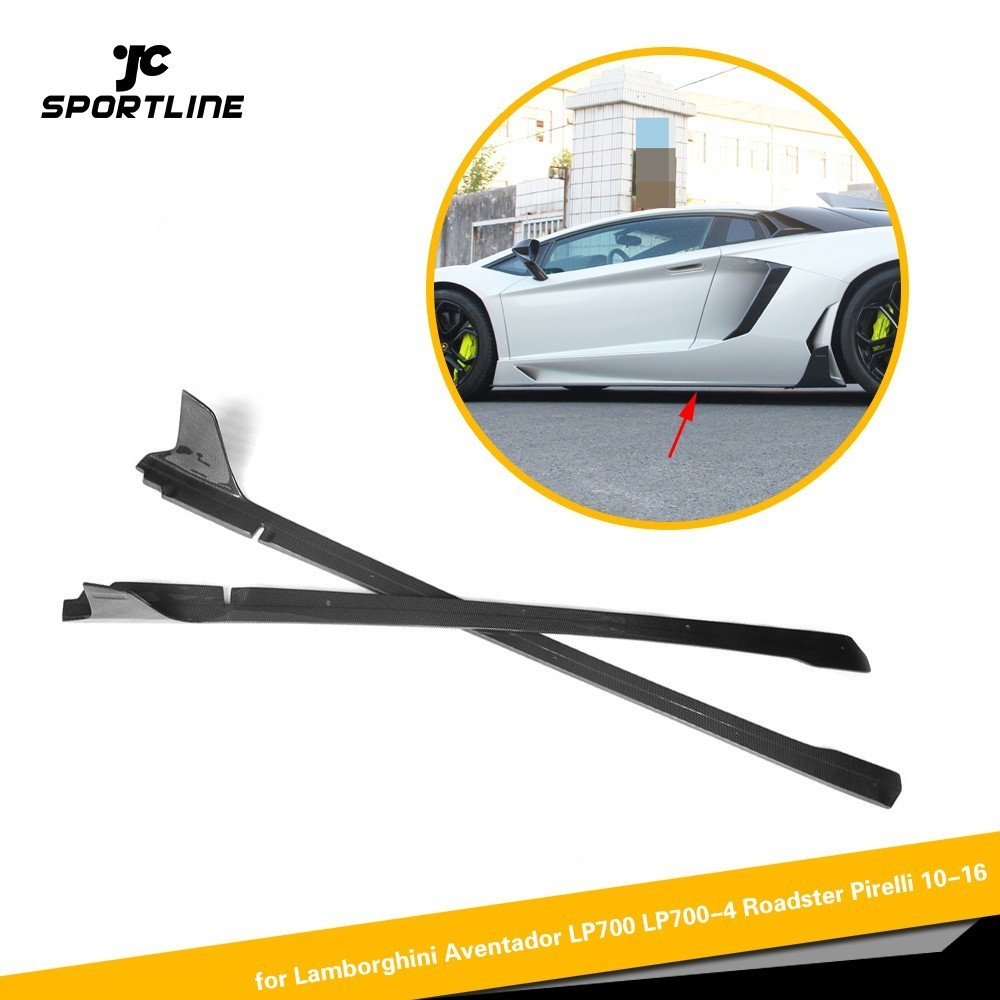 Bumpers For Lamborghini Aventador Lp570 Oem Style Car Styling Carbon Fiber Rear Lip Bumper Back Diffuser Cheap Sales 50%