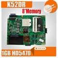 K52DR laptop Motherboard Für ASUS K52DY A52D K52DE K52D X52D K52DR Mainboard 1GB HD5470 8 * Speicher