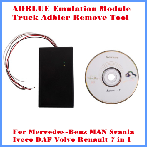 [DHL livraison gratuite] ADBLUE Module d'émulation camion Adblue supprimer outil pour Benz MAN Scania Iveco DAF Volvo et Renault 7 en 1