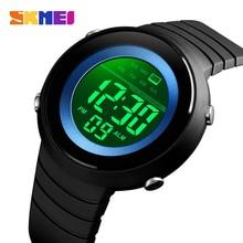 цена на SKMEI Simple Men Sports Watches Back Light LED 50M Waterproof Digital Watch Chronograph Week Wristwatches Relogio Masculino 1497