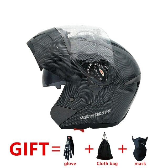 Neuankömmlinge Besten Verkäufe Flip Up motorrad helm mit Inneren Sonnenblende Doppel Objektiv Dual Visier Racing Motocross Quad Dirt Bike