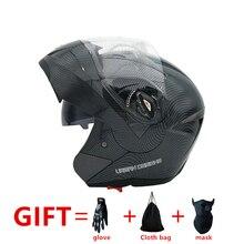 Nouveautés Meilleures Ventes Flip Up casque de moto avec Intérieure Pare-soleil À Double Lentille À Double Visière Racing Motocross Quad Dirt vélo