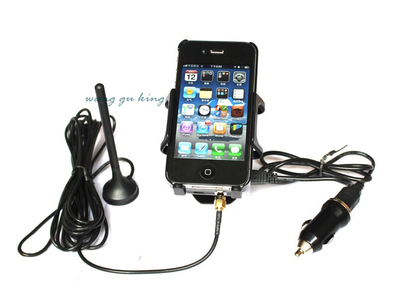GSM CDMA <font><b>850mhz</b></font> Cellular Cellphone Signal Booster Car Phone Signal Amplifier LED Power Indicator USB Charger Mount Bracket image