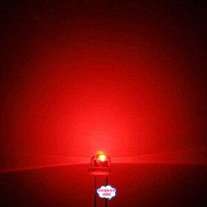 Image 4 - 1000 adet 5mm (4.8mm) hasır şapka LED kırmızı ışık yayan diyot 5mm led diyot kırmızı mavi sarı beyaz yeşil pembe RGB UVcolor LED diyotlar