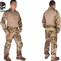 Emerson Gen2 kampfuniform Emerson Tactical hemd und hose Militärischen Us-armee BDU Anzüge Highlander EM6980