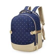 DIDA медведь Для женщин Рюкзаки Водонепроницаемый сумка Портативный коляска сумка для мамы Рюкзаки горошек узор детские пеленки сумка Детские органайзер Bag