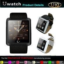 SmartWatch U10 1,54 Zoll U 10 Smart Uhr anti-verlorene Bluetooth Wasserdichte Tragbare Geräte Für Andriod Für Samsung Smartphones
