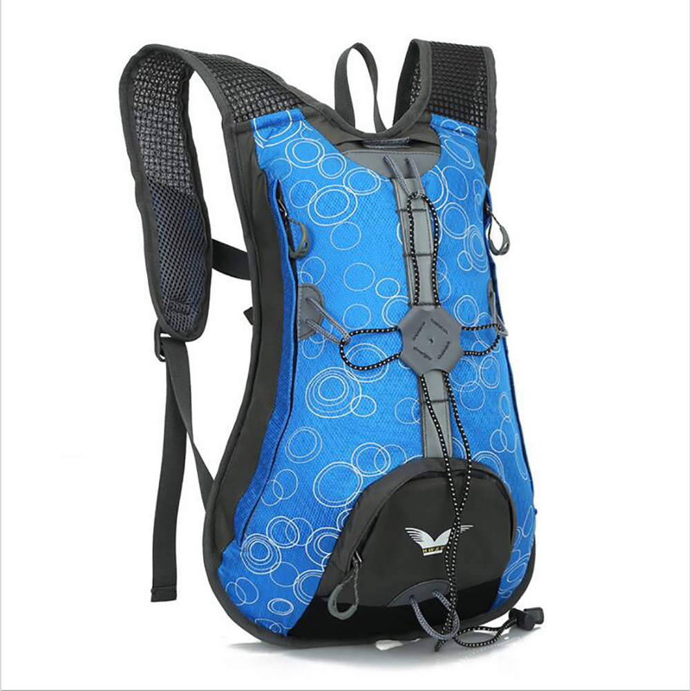 Sports Bags 15L Waterproof Bicycle Bike Shoulder Backpack Outdoor Cycling Riding Travel Mountaineering Hydration Water Bag