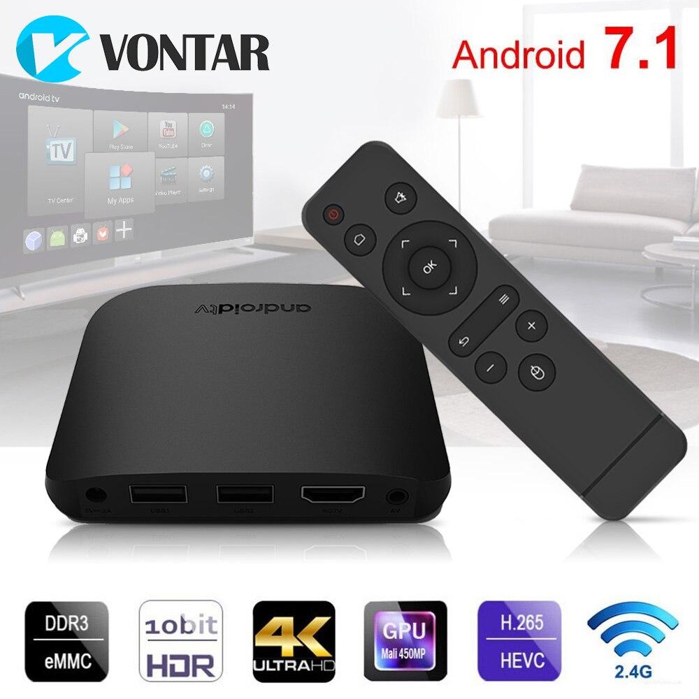 все цены на Smart Andriod 7.1 tv box 2018 M8S Plus W Amlogic S905W Quad core 4K Media Player Support MAG Stalker Mini PC PK TX3 MINI онлайн