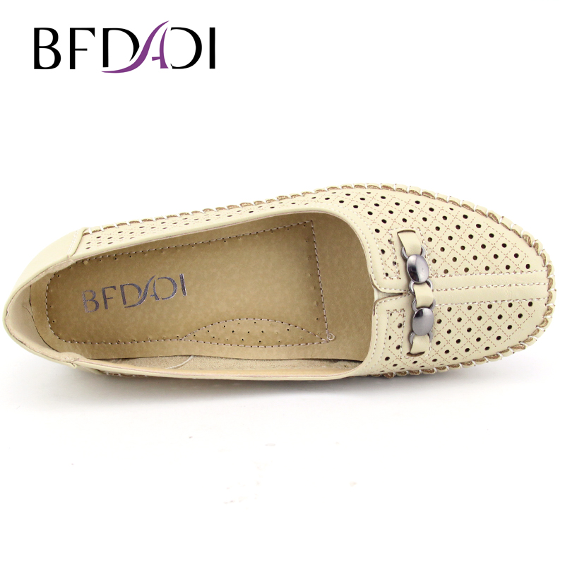 50f7eaf4e032 BFDADI 2016 Summer Hot Sale Casual Anti-skid Women Flats Shoes Big Size  37-42 Boat ...