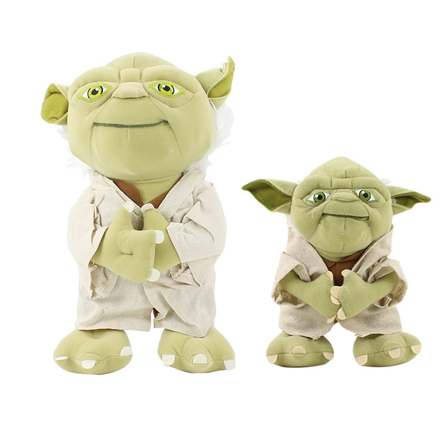 20cm 35cm Star Wars Master Yoda Plush Toy Star Wars Yoda Figure Toy