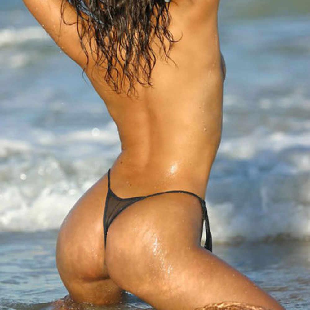 뜨거운 원피스 수영복 여자 끈 수영복 패드 섹시한 하이 컷 monokini 할로우 아웃 블랙 풀 수영복 수영복 # p