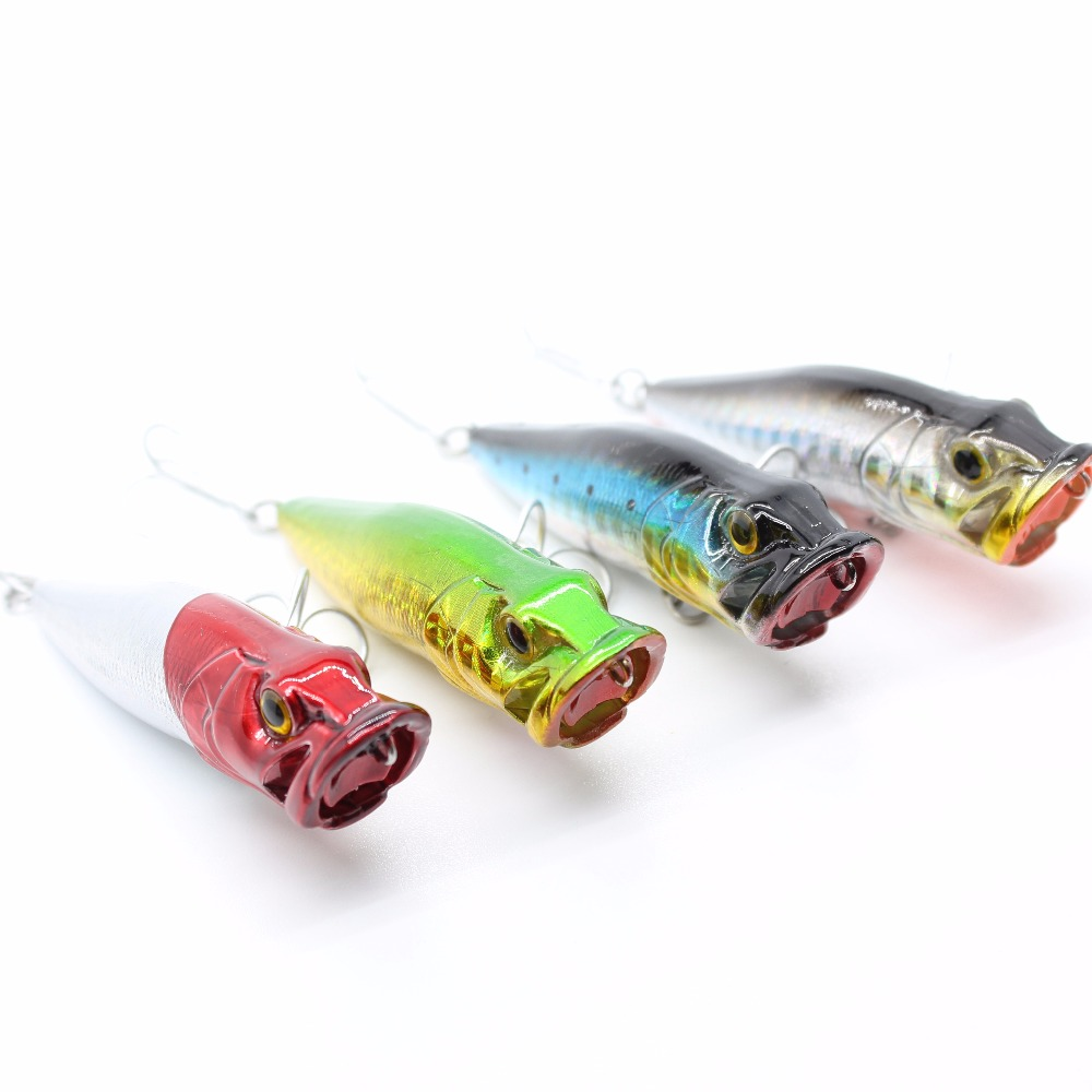 AOCLU wobblers Super Quality 4 Colors 60mm Hard Bait Minnow Crank - Balıqçılıq - Fotoqrafiya 2