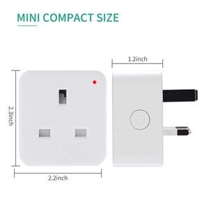 Image 3 - مقبس ذكي WiFi ، منفذ المملكة المتحدة ، تحكم لاسلكي ، طاقة 16 أمبير ، مراقبة الطاقة ، مؤقت ، مفتاح ، تحكم صوتي ، يعمل مع Alexa و Google