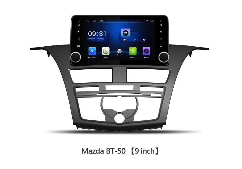 Accessoires de voiture OTOJETA pour Mazda BT-50 BT50 9 pouces GPS navi android 8.1 autoradio stéréo bluetooth headunit lecteur de bande carplay