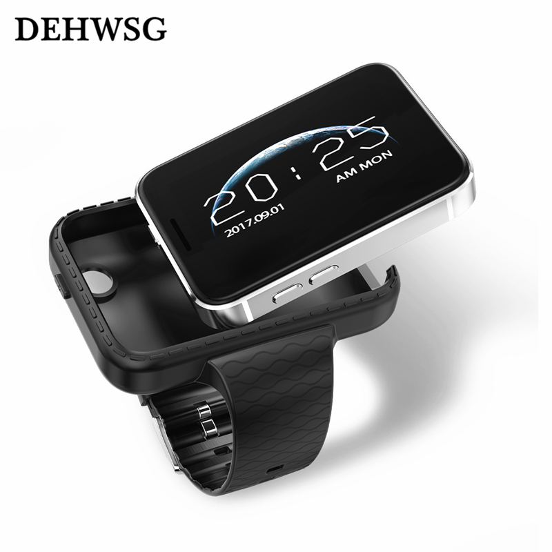 DEHWSG 2018 new smart watch DM99 card phone support SIM TF Card Driving recorder MTK2502 perfect For iPhone Android phone stylish smart watch phone support sim tf