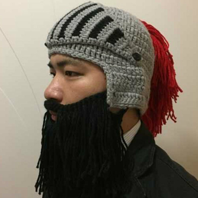 651757fb80d General Hat with Beard and Mouth muffle for Kids and Adults Halloween  Cosmetic Mask Hat Brown Beard Fashion Cool Hats-in Hats   Caps from Mother    Kids on ...