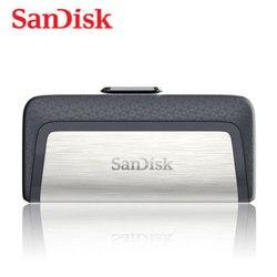 Memória dupla do usb da movimentação 3.1 gb 32 gb 64 gb 16 gb usb 128 flash 32 da vara 32 gb usb da movimentação do flash do pendrive de sandisk-c/usb 3.0 usb