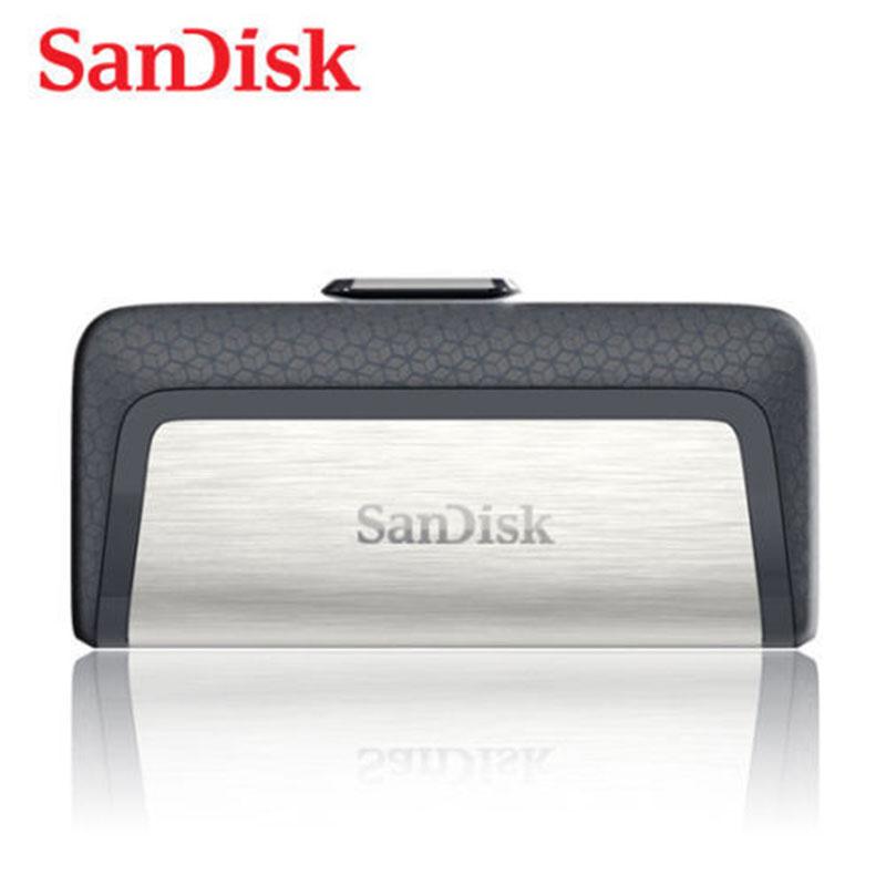 SanDisk Type-C/USB 3.1 USB Pendrive Flash Drive Dual OTG Pen Drive USB Memory 128GB 32GB 64GB 16GB USB 3.0 Stick USB Flash 32GB