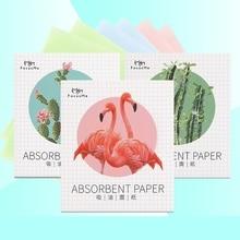 50*4 шт лицевая маслопоглощающая бумага растительные волокна из дышащего хлопка целлюлозы