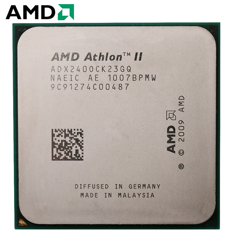 AMD Athlon II X2 240 65W 2.8GHz 938-pin Dual-Core CPU Desktop Processor X2 240 Socket AM3