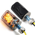 Tiptop NEW 2X 6LED Motorcycle Mini Amber Turn Signal Lights Blinker Indicator Free Shipping L614