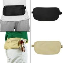 купить Cycling Bag Cloth Waist Packs Travel Pouch Hidden Wallet Passport Money Waist Belt Bag Slim Security Useful Travel Bags дешево